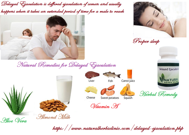 Natural Remedies for Delayed Ejaculation