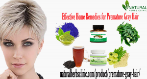 Natural Remedies for Premature Gray Hair
